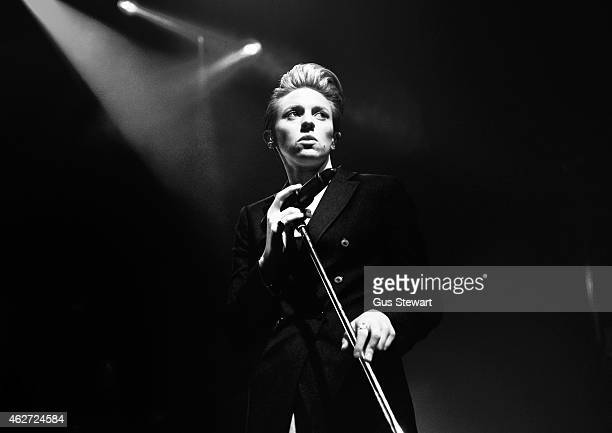 Elly Jackson of La Roux performs on stage at the NME Awards Show at KOKO on February 3 2015 in London United Kingdom