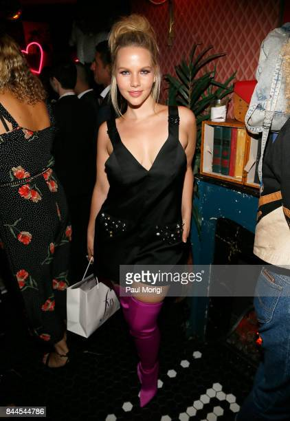 Elly Mayday attends the Daily Front Row's Fashion Media Awards After Party at The Wooly on September 8 2017 in New York City