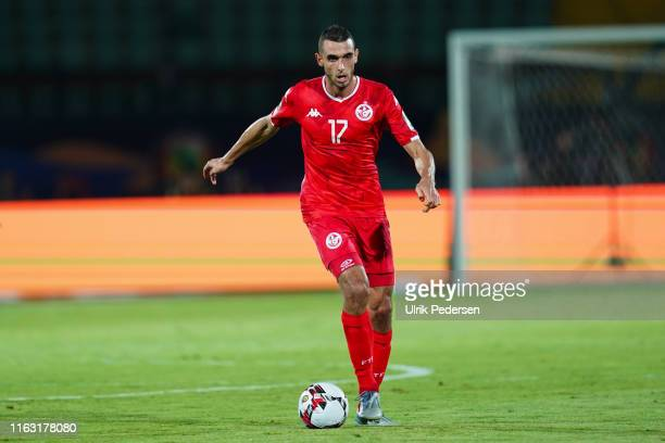 Ellyes Joris Skhiri of Tunisia during the 2019 Africa Cup of Nations third place final soccer match between Tunisia and Nigeria at the Al-Salam...