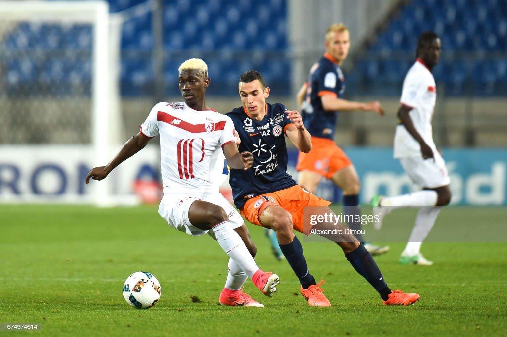 Montpellier Herault SC v Lille OSC - Ligue 1 : News Photo