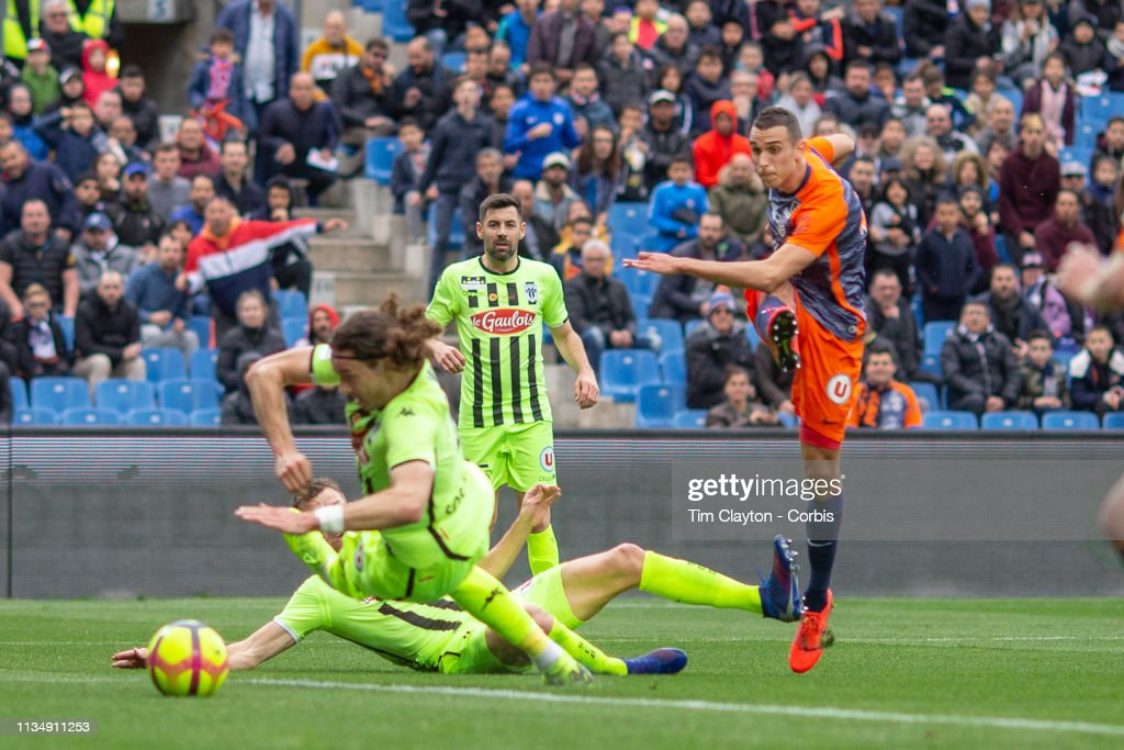 Montpellier Vs Angers : News Photo