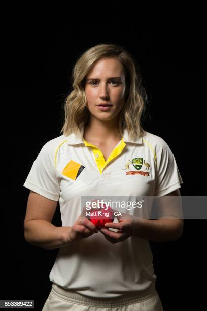 Ellyse Perry poses during a Cricket Australia via Getty Images Women's Player Camp at the Centre For Excellence on September 18 2017 in Brisbane...
