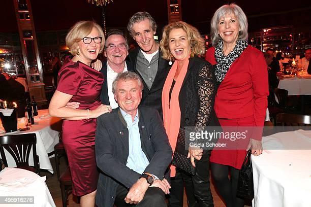 Elmar Wepper and his wife Anita Wepper, Michaela May and her husband Bernd Schadewald, Monica Maier and her husband Sepp Maier during the VIP...