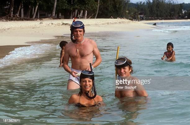 Elmar Wepper Fritz Wepper Freundin Prinzessin Angela von Hohenzollern Urlaub auf Barbados Barbados Karibik
