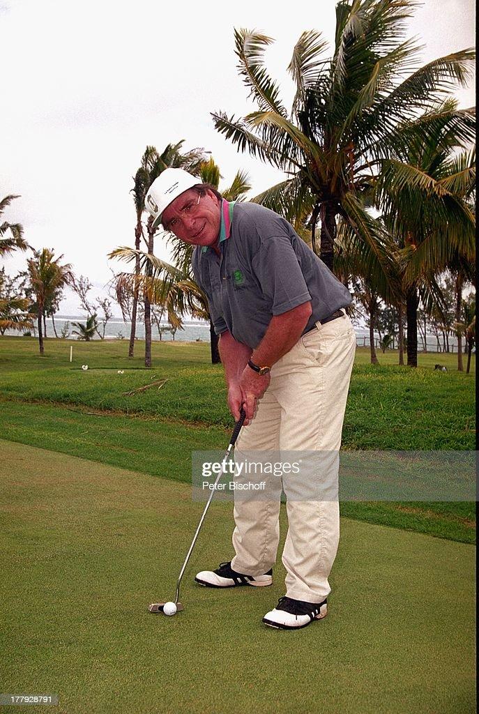 """Elmar Wepper, Golf-Urlaub, Mauritius, Afrika, """"Le Saint GŽran""""-H : News Photo"""