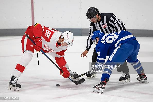 Elmer Soderblom Of The Detroit Red Wings Faces Off Against Mikhail News Photo Getty Images