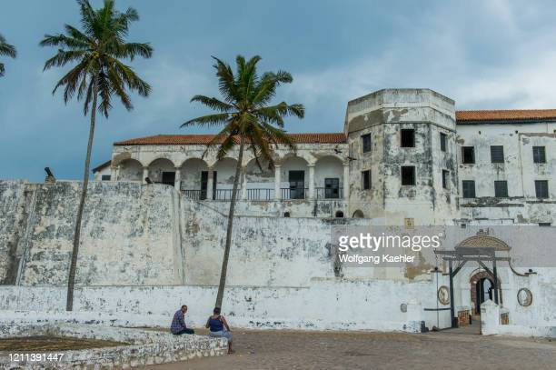 Elmina Castle was erected by Portugal in 1482 as São Jorge da Mina Castle in Elmina, Ghana.. It was the first trading post built on the Gulf of...