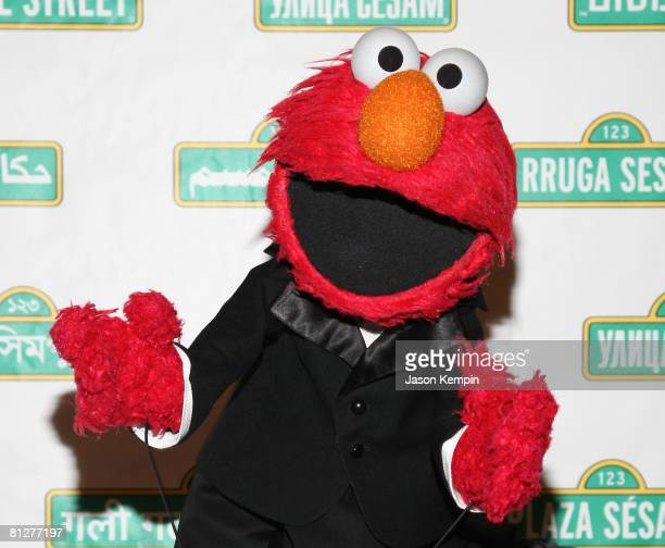 Elmo attends the 6th Annual Sesame Workshop Benefit Gala at Cipriani 42nd Street on May 28 2008 in New York City