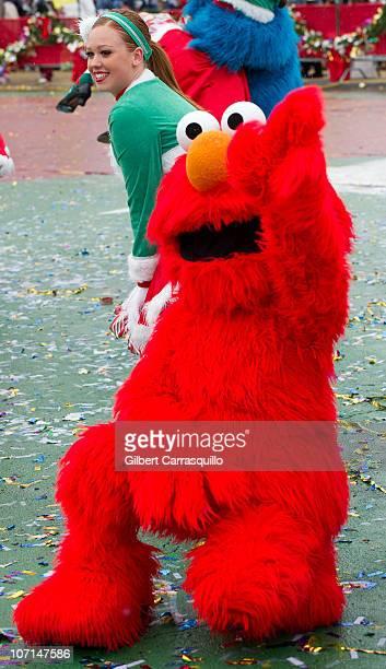 "Elmo from ""Sesame Street"" attends the 91st Annual 6ABC IKEA Thanksgiving Day Parade on November 25, 2010 in Philadelphia, Pennsylvania."