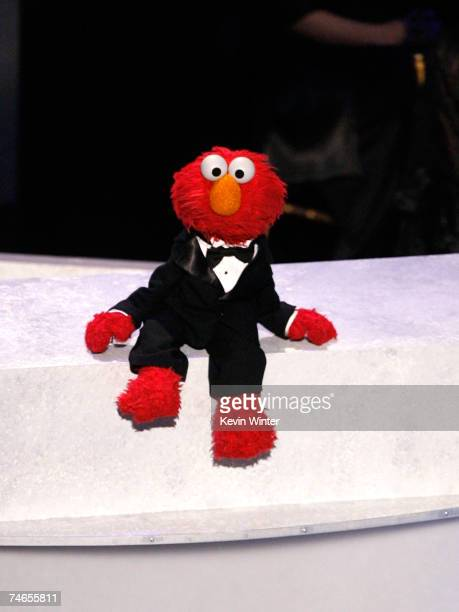 Elmo onstage during the 34th Annual Daytime Emmy Awards held at the Kodak Theatre on June 15 2007 in Hollywood California