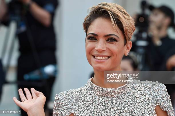 Elodie at the 76 Venice International Film Festival 2019 Marriage Story red carpet Venice August 29th 2019