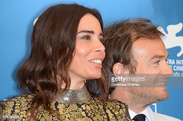Elodie Bouchez and Jonathan Lambert attend 'Reality' Photocall during the 71st Venice Film Festival on August 28 2014 in Venice Italy