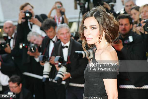 Elodie Bouchez arrives at the premiere of 'Chacun Son Cinema' during the 60th Cannes Film Festival