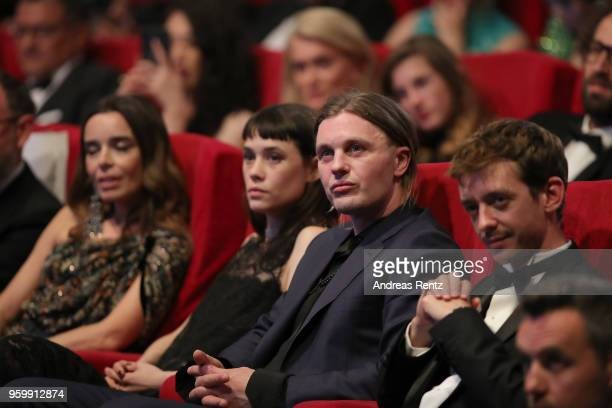 Elodie Bouchez Astrid BergesMichael Pitt and Nahuel Perez Biscayart attend an Hommage to Edward Lachman during the 71st annual Cannes Film Festival...