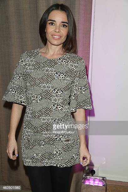 Elodie Bouchez attends of the Sidaction Gala Dinner 2015 at Pavillon d'Armenonville on January 29 2015 in Paris France