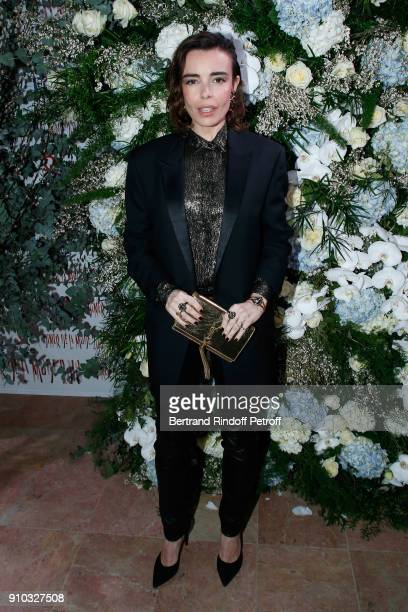 Elodie Bouchez attends the 16th Sidaction as part of Paris Fashion Week on January 25 2018 in Paris France