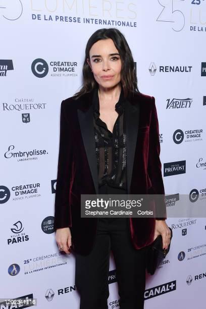"Elodie Bouchez attends the 25th ""Lumieres De La Presse Internationale"" Ceremony on January 27, 2020 in Paris, France."