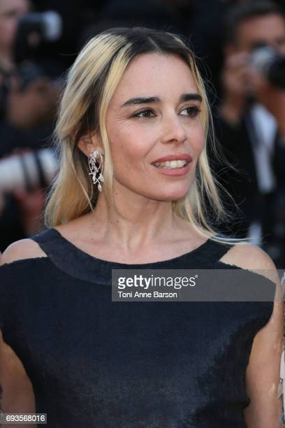 Elodie Bouchez attends the 70th anniversary event during the 70th annual Cannes Film Festival at Palais des Festivals on May 23 2017 in Cannes France