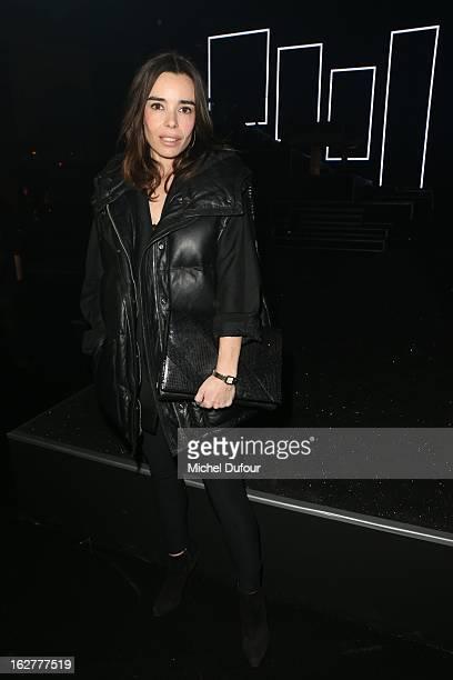 Elodie Bouchez attends the Etam Live Show Lingerie at Bourse du Commerce on February 26 2013 in Paris France