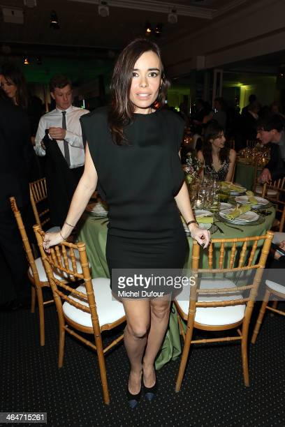 Elodie Bouchez attends the Sidaction Gala Dinner at Pavillon d'Armenonville on January 23 2014 in Paris France