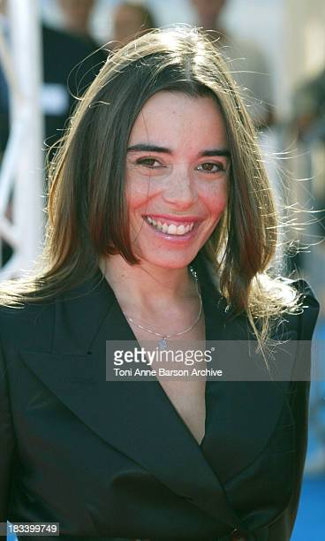 Elodie Bouchez during Deauville 2002 CQ Premiere at Centre International de Deauville in Deauville France