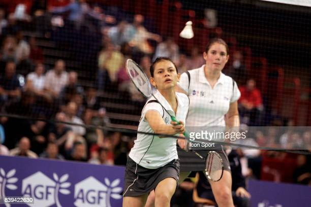 Elodie EYMARD / Weny RAHMAWATI Double dames france grand prix de france badminton HAlle Carpentier