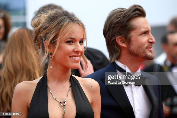 Elodie Fontan and Philippe Lacheau attend the screening of Once Upon A Time In Hollywood during the 72nd annual Cannes Film Festival on May 21 2019...
