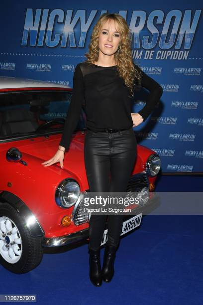 Elodie Fontan attends The Nicky Larson Et Le Parfum De Cupidon Premiere February 01 2019 in Paris France