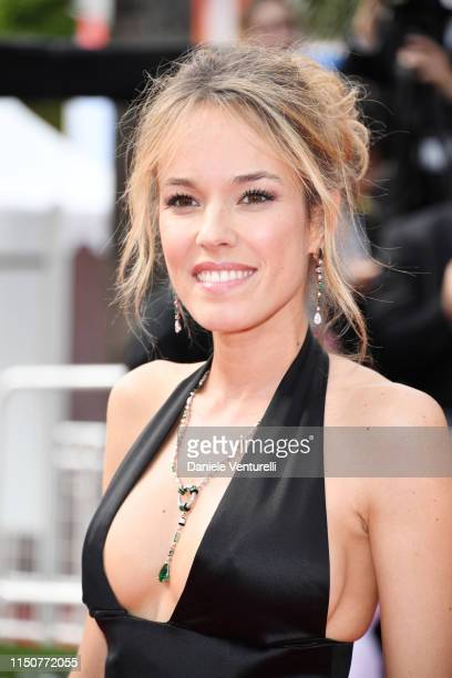 """Elodie Fontan attends the screening of """"Once Upon A Time In Hollywood"""" during the 72nd annual Cannes Film Festival on May 21, 2019 in Cannes, France."""