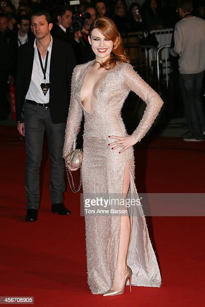 Elodie Frege arrives at the 15th NRJ Music Awards at the Palais des Festivals on December 14 2013 in Cannes France