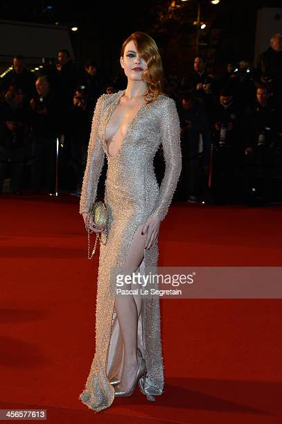 Elodie Frege attends the 15th NRJ Music Awards at Palais des Festivals on December 14 2013 in Cannes France