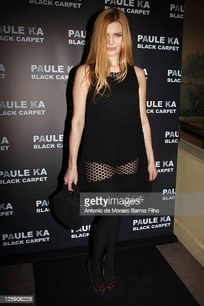 Elodie Frege attends the Paule Ka presentation at Le Carmen on February 8 2011 in Paris France