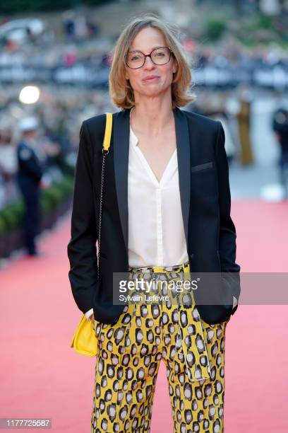 Elodie Frenck attends closing ceremony red carpet of 30th Dinard Film Festival on September 28, 2019 in Dinard, France.