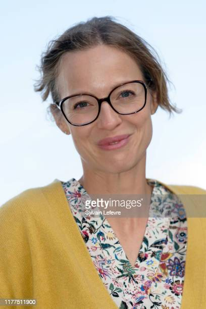 Elodie Frenck attends photocall of 30th Dinard Film Festival on September 27 2019 in Dinard France
