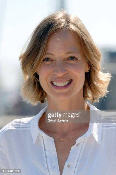 Elodie Frenck attends the 21th Festival of TV Fiction At La Rochelle Day Two on September 12 2019 in La Rochelle France