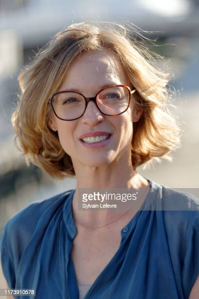 Elodie Frenck member of jury attends the Jury photocall during the 21th Festival of TV Fiction At La Rochelle on September 11 2019 in La Rochelle...