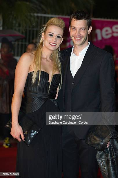 Elodie Gossuin and Bertrand Lacherie attend the NRJ Music Awards 2012 at Palais des Festivals in Cannes