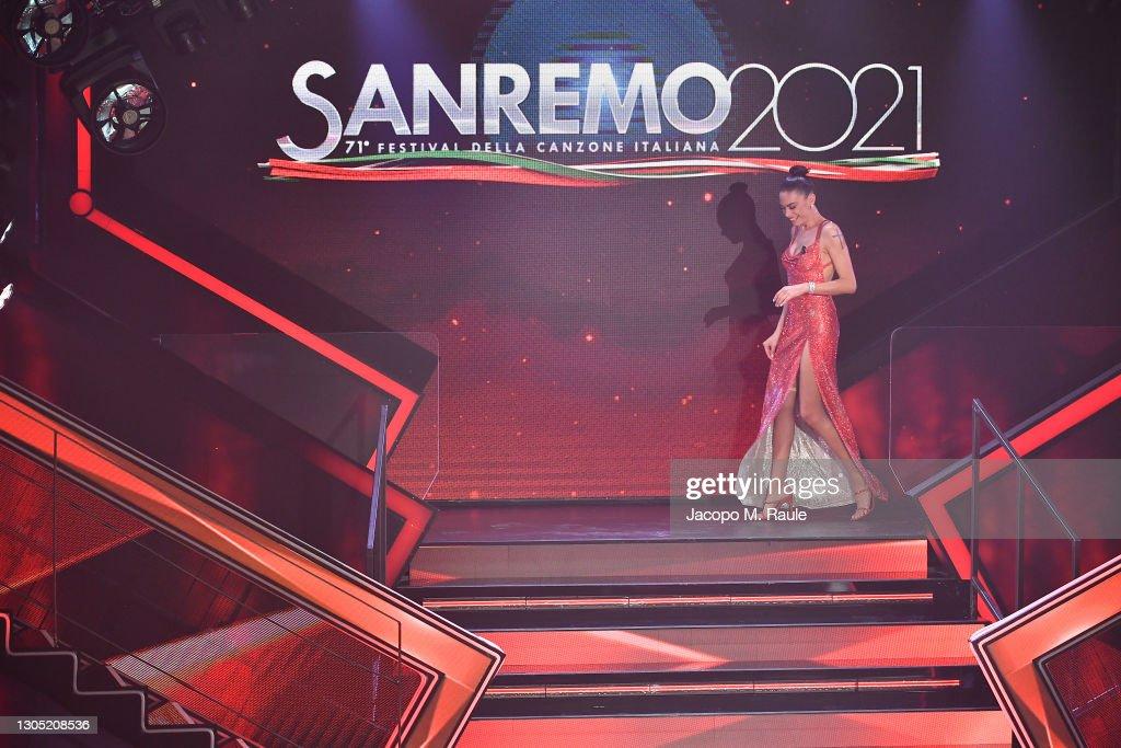 Sanremo Music Festival 2021 - Day 2 : Foto di attualità