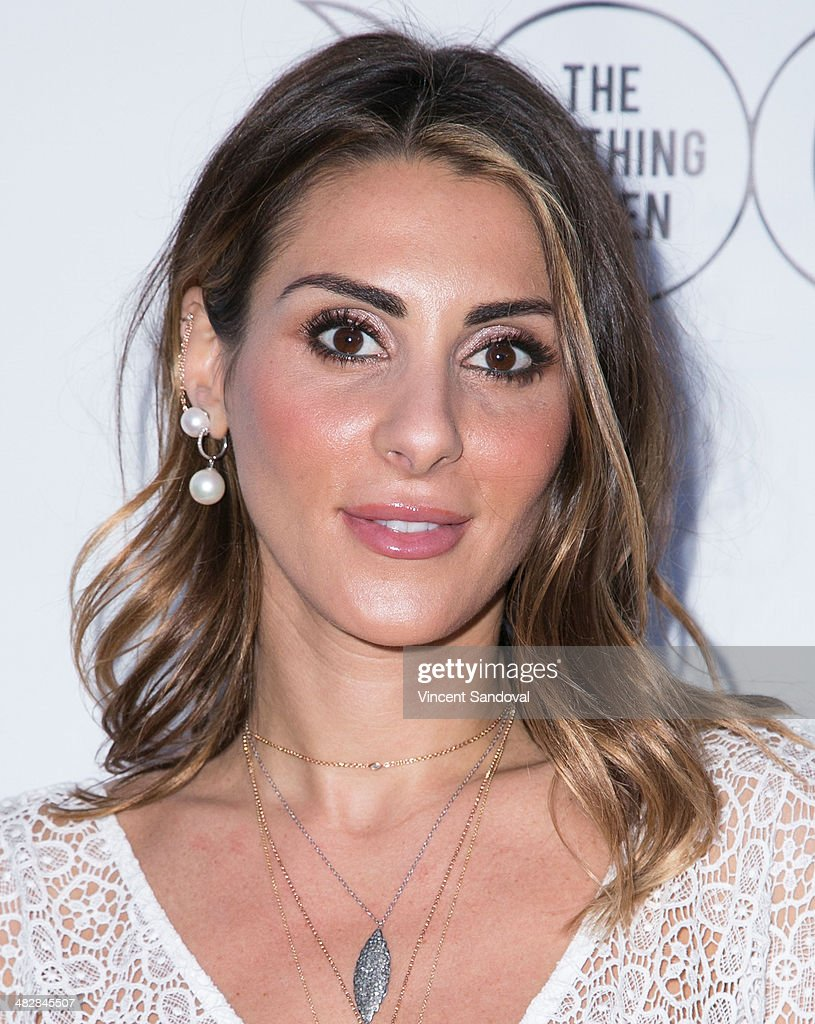 Elodie Khayat attends Tallulah Willis and Mallory Llewellyn celebrate the launch of their new fashion blog 'The Clothing Coven' at Elodie K. on April 4, 2014 in West Hollywood, California.