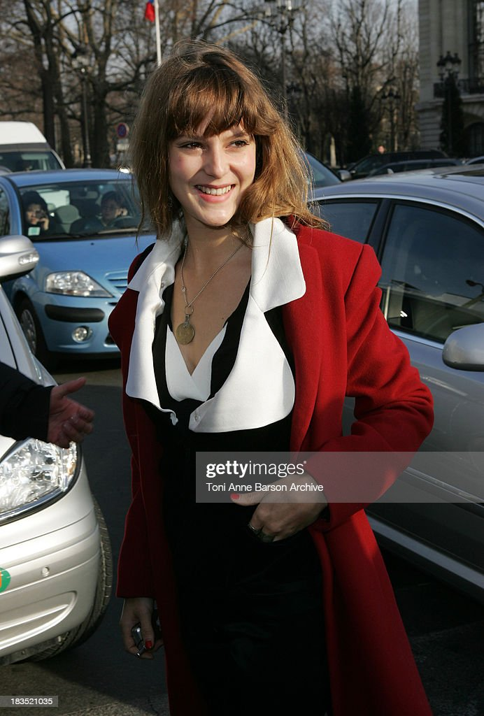 Paris Fashion Week - Haute Couture Spring/Summer 2006 - Chanel - Arrivals