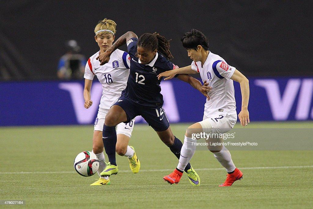 France v Korea Republic: Round of 16 - FIFA Women's World Cup 2015 : News Photo