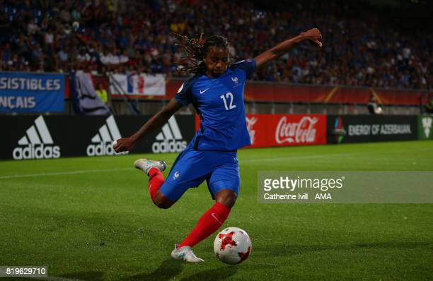 Elodie Thomis of France Women during the UEFA Women's Euro 2017 match between France and Iceland at Koning Willem II Stadium on July 18 2017 in...