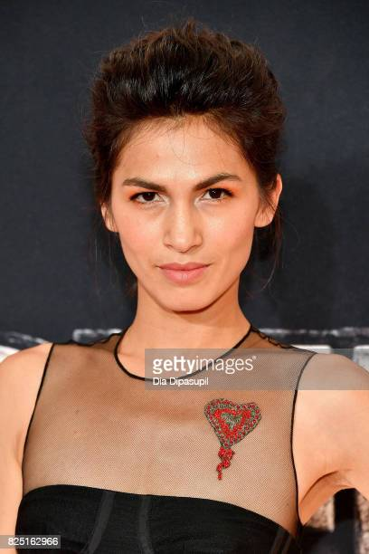 """Elodie Yung attends the """"Marvel's The Defenders"""" New York Premiere at Tribeca Performing Arts Center on July 31, 2017 in New York City."""