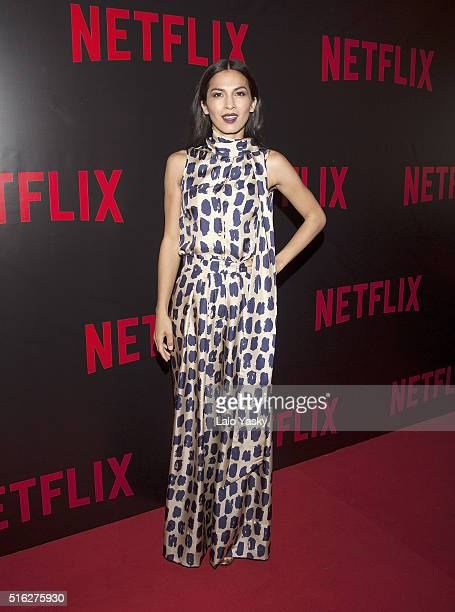 Elodie Yung attends the 'Netflix Red Carpet' event at the Four Seasons Hotel on March 17 2016 in Buenos Aires Argentina