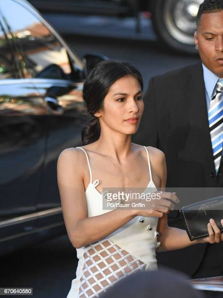 Elodie Yung is seen at the premiere of 'Guardians of the Galaxy Vol 2' at Dolby Theatre on April 19 2017 in Los Angeles California