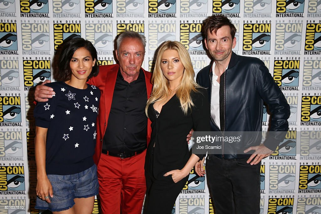 "Comic-Con: David Tennant, Katheryn Winnick, Elodie Yung and Udo Kier at ""Call of Duty: WWII Zombies"" Panel"