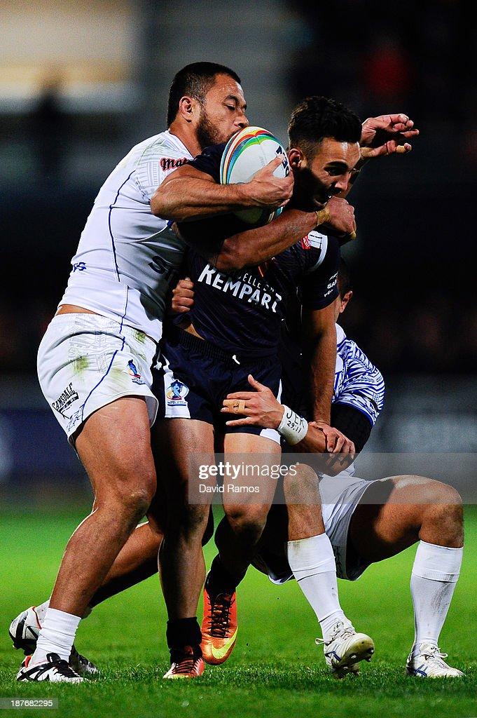 France v Samoa - Rugby League World Cup: Group B