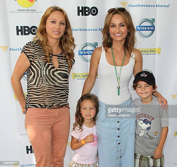 Eloisa De Laurentiis Jade Thompson chef Giada De Laurentiis and Julian Vaguelsy attend the 3rd Annual LA Loves Alex's Lemonade Culinary Event at...