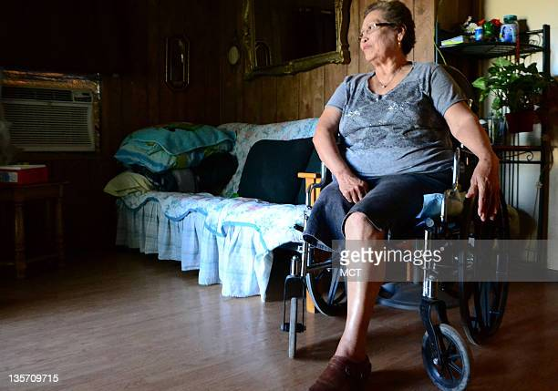 Eloisa Lara a 67yearold immigrant from Mexico says she is not bitter about a leg amputation due to complications from diabetes