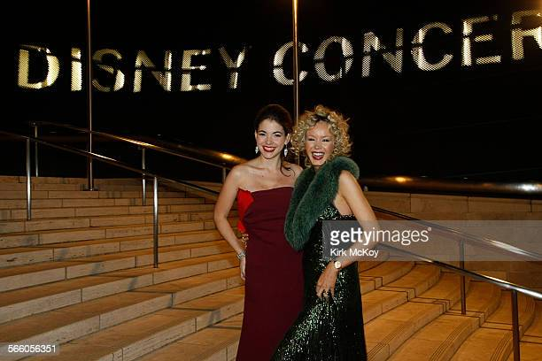 Eloisa Marturen with Julia Trappe attends the Los angeles Philharmonic opening night gala to celebrate music director Gustavo Dudamel and famed...
